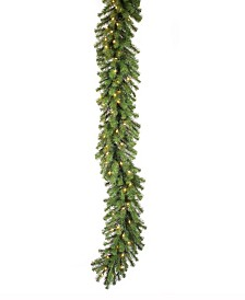 Vickerman 9 ft Douglas Fir Artificial Christmas Garland With 50 Clear Lights