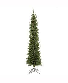 6.5 ft Durham Pole Pine Artificial Christmas Tree Unlit