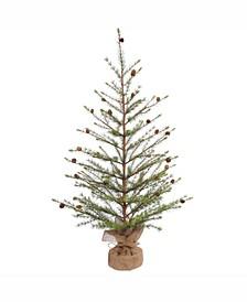 48 inch Missoula Pine Artificial Christmas Tree Unlit