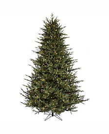 4.5 ft Itasca Frasier Artificial Christmas Tree With 250 Warm White Led Lights