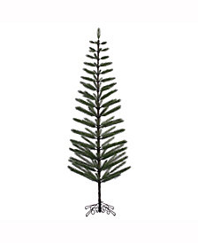 "Vickerman 9' X 34"" Green Feather Artificial Christmas Tree"