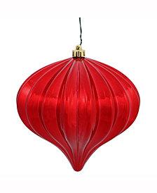 "Vickerman 5.7"" Red Shiny Onion Christmas Ornament"