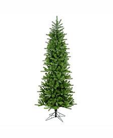 Vickerman 7.5 ft Carolina Pencil Spruce Artificial Christmas Tree Unlit
