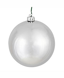 "2.75"" Silver Shiny Ball Christmas Ornament, 12 Per Bag"