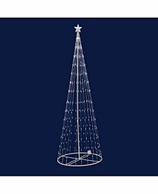 4' Christmas Show Tree With 152 Warm White Led Lights