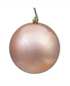 "Vickerman 2.4"" Rose Gold Shiny Ball Christmas Ornament, 24 Per Bag"