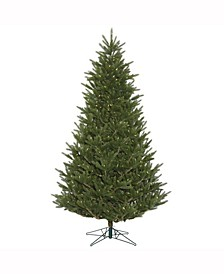 "7.5' X 57"" Fresh Cut Frasier Fir Artificial Christmas Tree Featuring 2416 Pe/Pvc Tips"