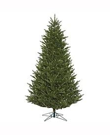 "7.5' X 57"" Fresh Cut Frasier Fir Artificial Christmas Tree Featuring 2416 Pe/Pvc Tips"