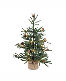 Vickerman 42 inch Carmel Pine Artificial Christmas Tree