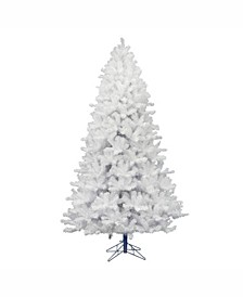 7.5 ft Crystal White Pine Artificial Christmas Tree Unlit