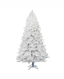 Vickerman 7.5 ft Crystal White Pine Artificial Christmas Tree Unlit