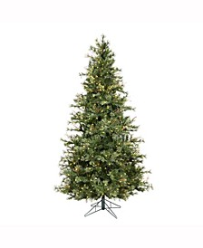 7.5 ft Mixed Country Pine Slim Artificial Christmas Tree