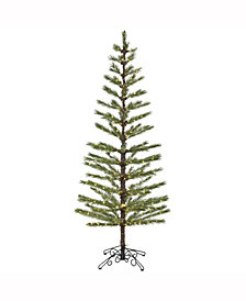 "Vickerman 7' X 30"" Green Feather Tree"