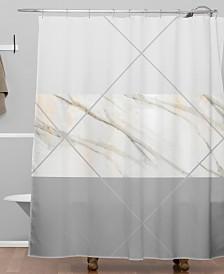 Deny Designs Iveta Abolina Alaskan Gelato Shower Curtain