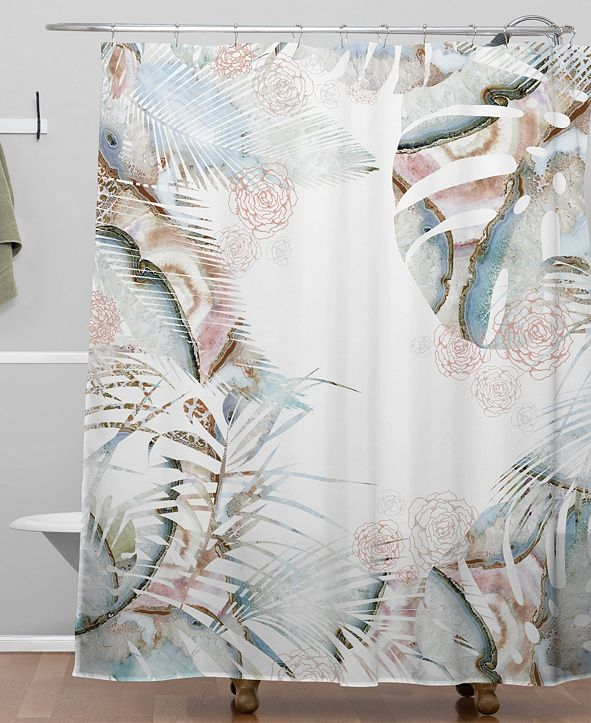 Deny Designs Iveta Abolina Honey Its Nap Time Shower Curtain