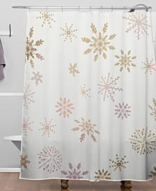 Iveta Abolina December Shower Curtain