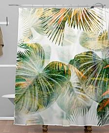 Iveta Abolina Tropical Lush Shower Curtain
