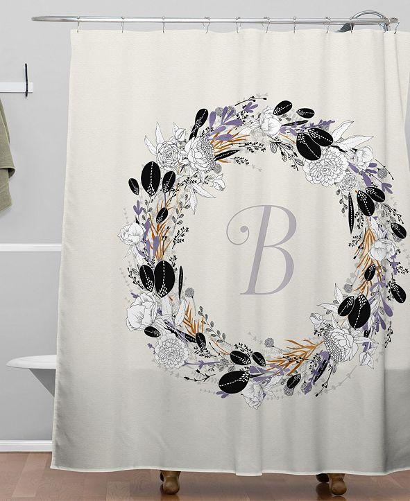 Deny Designs Iveta Abolina Silver Dove B Shower Curtain