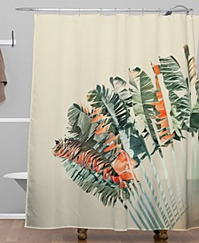 Iveta Abolina Palm Desert Sunrise Shower Curtain