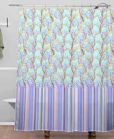 Iveta Abolina Hyper Fish Scale Shower Curtain