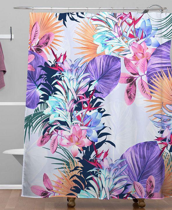 Deny Designs Iveta Abolina Tropical Island Shower Curtain