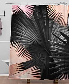Iveta Abolina Midnight Coral Shower Curtain