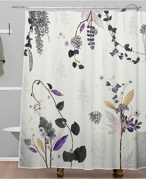 Deny Designs Iveta Abolina Woodland Dream Shower Curtain