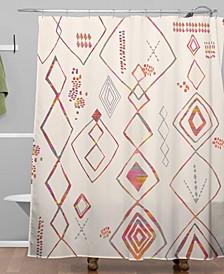Iveta Abolina Tangier Villa Shower Curtain