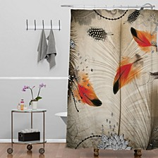 Iveta Abolina Floral 3 Shower Curtain