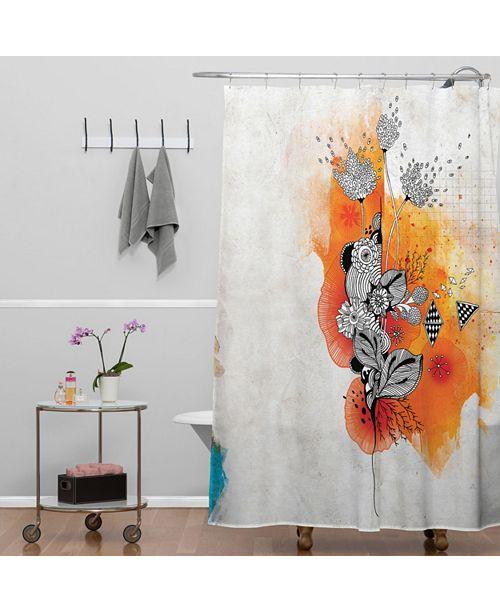 Deny Designs Iveta Abolina Little Bird Shower Curtain