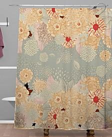 Iveta Abolina Purple Shower Curtain