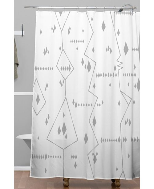 Deny Designs Iveta Abolina Morocco On My Mind VII Shower Curtain