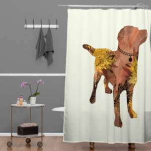 Deny Designs Iveta Abolina Boardwalk Shower Curtain Bedding