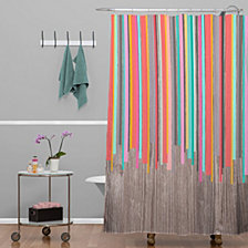 Deny Designs Iveta Abolina Geo Steps Shower Curtain