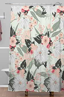 Iveta Abolina Carmella Creme Shower Curtain