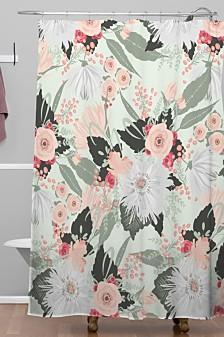 Deny Designs Iveta Abolina Carmella Creme Shower Curtain