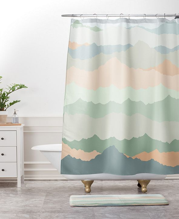Deny Designs Iveta Abolina Matcha Chevron Bath Mat