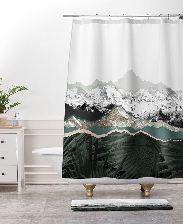Deny Designs Mountainside Jungle Bath Mat by Iveta Abolina
