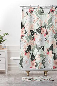 Deny Designs Iveta Abolina Viola Garden Bath Mat