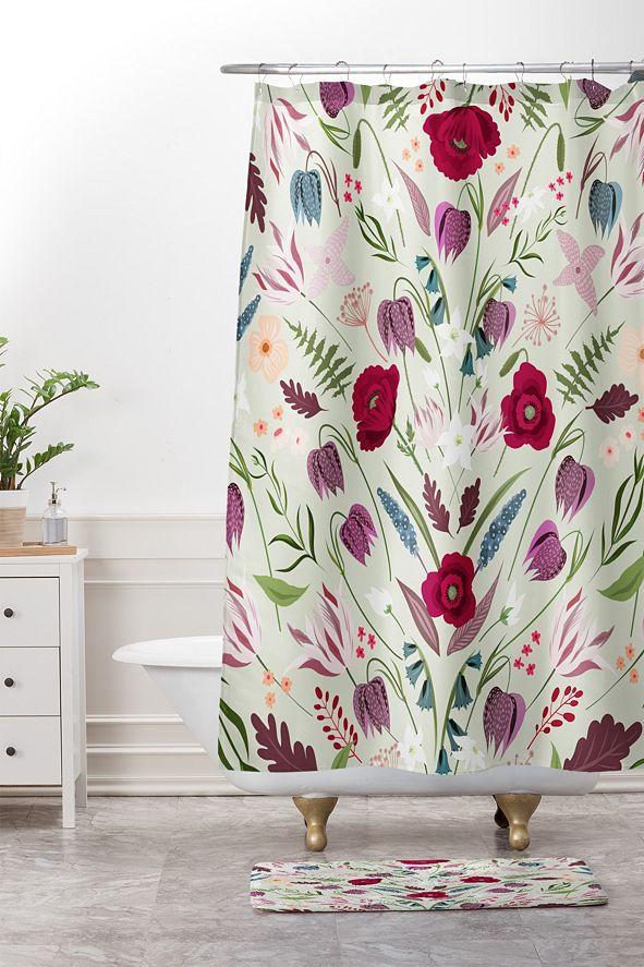 Deny Designs Iveta Abolina Ethel Garden II Bath Mat