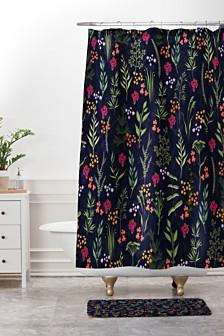 Deny Designs Iveta Abolina Viola Garden II Bath Mat