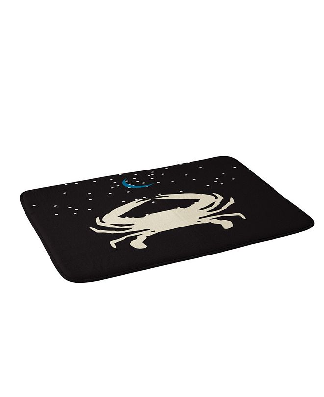 Deny Designs Holli Zollinger Zodiac Cancer Bath Mat