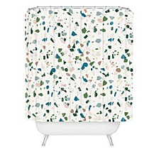 Holli Zollinger Terrazzo Shower Curtain