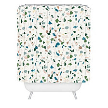 Deny Designs Holli Zollinger Terrazzo Shower Curtain