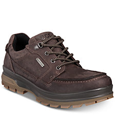 Ecco Men's Rugged Track GTX Moc Toe Waterproof Leather Oxfords