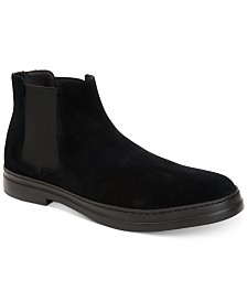 Calvin Klein Men's Rixley Suede Chelsea Boots