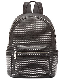 DKNY Faye Leather Stud Backpack, Created for Macy's
