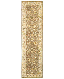 """Tommy Bahama Home Palace 10302 Brown/Beige 2'6"""" x 10' Runner Area Rug"""