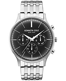 Kenneth Cole New York Men's Stainless Steel Bracelet Watch 42mm