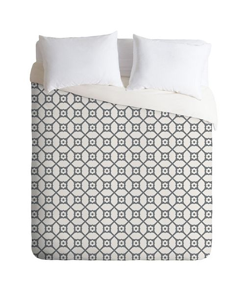 Deny Designs Holli Zollinger Trellis Queen Duvet Set